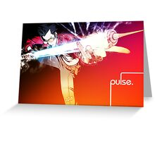Pulse (Sunrise) Greeting Card