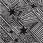 stripes and stars doodle by Ellory