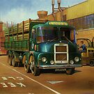 Lucas Scammell Routeman I by Mike Jeffries