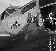 World War II nose art by © Joe  Beasley IPA