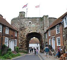 The Landgate, Rye by David Fowler