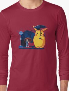 pokemon totoro scene Long Sleeve T-Shirt