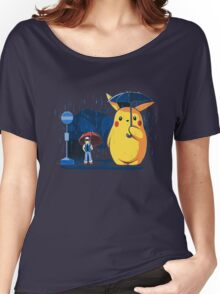 pokemon totoro scene Women's Relaxed Fit T-Shirt