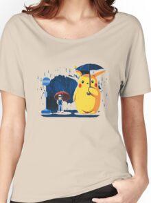 pokemon totoro scene Women's Relaxed Fit T-Shirt