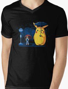 pokemon totoro scene Mens V-Neck T-Shirt