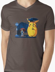 pokemon totoro scene Mens V-Neck T-Shirt
