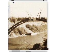 Building Bridges Forever ~ Happy Thanksgiving, Canada! iPad Case/Skin