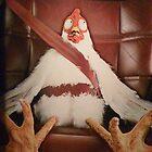 Scared Chicken by Mark Roon-Reitmeier