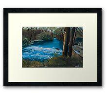 Forest River - England  Framed Print