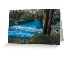 Forest River - England  Greeting Card