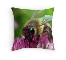 BEE THE BEST Throw Pillow