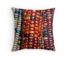 Indian Corn Assortment Throw Pillow