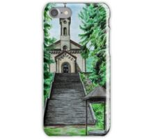 Pilgrimage Church of the Visitation in Kocléřov iPhone Case/Skin