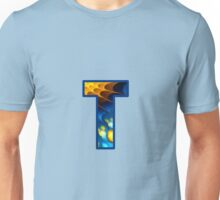 Fractal – Alphabet – T is for Thoughts Unisex T-Shirt
