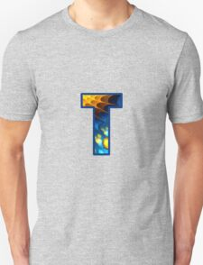 Fractal – Alphabet – T is for Thoughts T-Shirt