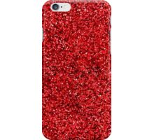 Red Sparkle iPhone Case/Skin