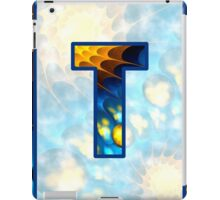 Fractal – Alphabet – T is for Thoughts iPad Case/Skin