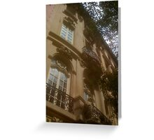 Classic Facade Greeting Card