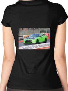 Ready To Race at Santa Pod Women's Fitted Scoop T-Shirt