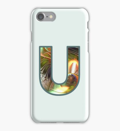 Fractal – Alphabet –  U is for Unity iPhone Case/Skin