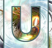 Fractal – Alphabet –  U is for Unity by Anastasiya Malakhova