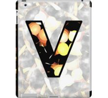 Fractal – Alphabet –  V is for Visual Perception iPad Case/Skin