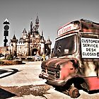 Dismaland - Customer Service Desk by LooseImages