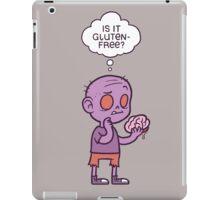 Gluten-free Zombie iPad Case/Skin