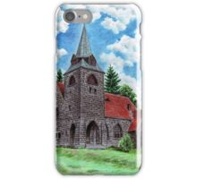 Church of the Sacred Heart in Borovnicka iPhone Case/Skin