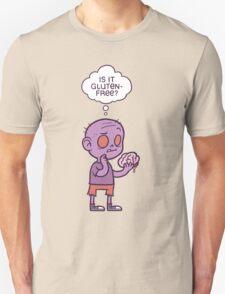 Gluten-free Zombie Unisex T-Shirt