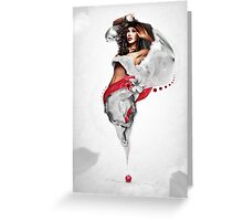 Snow Whites Love Greeting Card