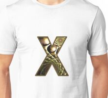 Fractal – Alphabet –  X is for X-Ray Unisex T-Shirt