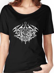 Succoria Logo Shirt - White Women's Relaxed Fit T-Shirt