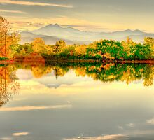 Reflections On Golden Ponds by Gregory J Summers