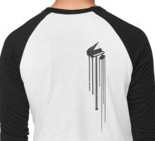 Playa Piano Men's Baseball ¾ T-Shirt