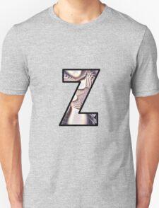 Fractal – Alphabet –  Z is for Zebra Colors T-Shirt