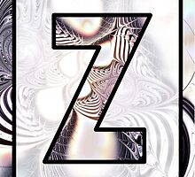 Fractal – Alphabet –  Z is for Zebra Colors by Anastasiya Malakhova