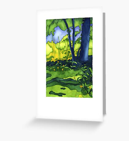 Psychedelic Summer Greeting Card