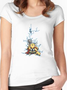 pikathor Women's Fitted Scoop T-Shirt