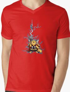 pikathor Mens V-Neck T-Shirt