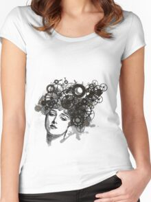 Rusty Lady Women's Fitted Scoop T-Shirt