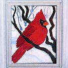 Cardinal by Suzi Linden