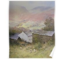 Above Grasmere from Allan Bank, Cumbria Poster