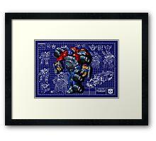 Armada Optimus Prime Framed Print
