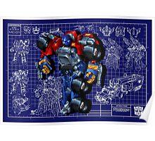 Armada Optimus Prime Poster