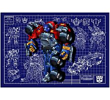 Armada Optimus Prime Photographic Print