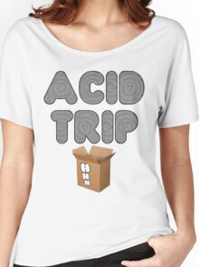 ACID TRIP H++ CLOTHIN Women's Relaxed Fit T-Shirt