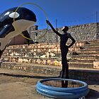 Dismaland - Killer Whale Jumping through a Hoop by LooseImages