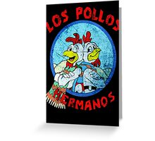 Los Pollos Hermanos Wink (retro) Greeting Card