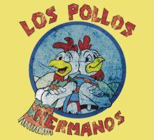 Los Pollos Hermanos Wink (retro) Kids Tee